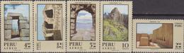 Peru History Monument Historico Archeology Set MNH - Archeologia