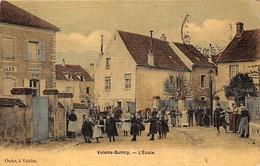 77.n°58567.voisins-quincy.l'école.carte Toilé - Autres Communes