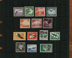 NAURU - QEII - 1954-1965 - PRE-DECIMAL - DEFS - MNH - 14 Stamps - Nauru