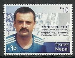 Nepal 2013 Mi 1096 MNH ( LZS8 NPL1096davPN01 ) - Calcio
