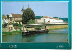 77 MELUN Cpm Bords De Seine - Melun