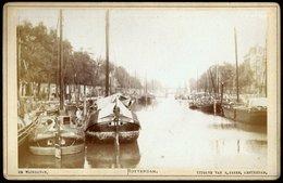 Nederland / Netherlands: Rotterdam, De Wijnhaven (Kabinetfoto) Cca1880 - Plaatsen
