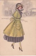 CPA  Femme Au Chapeau - Illustration Signée Mauzan - 1920 - Mauzan, L.A.