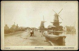 Nederland / Netherlands: Rotterdam, Overschie (Kabinetfoto) Cca1880 - Plaatsen