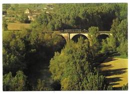 Saint Lieux Les Lavaur Le Viaduc Sur L' Agout Locotracteur Crochat N° 2 Publication ACOVA-CFTT Toulouse N° 3 - Autres Communes