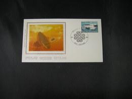 """BELG.1983 2089 FDC Zijde/soie ( Verviers ) :  """"Journée Du Timbre / Dag Vd Postzegel 1983 """" - 1981-90"""