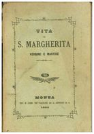 MONZA LIBRETTO S. MARGHERITA 1883 - Monza