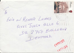 Gambia Cover Sent Express To Denmark 26-8-1997 Single Franked - Gambia (1965-...)