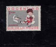 782406689 1959 SCOTT 707 POSTFRIS  MINT NEVER HINGED EINWANDFREI  (XX) -  CHILD PLAYING WITH DOLL - Argentine