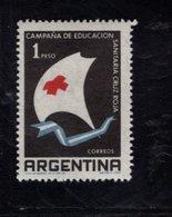 782406941 1959 SCOTT 706 POSTFRIS  MINT NEVER HINGED EINWANDFREI  (XX) -  SYMBOLIC SAILBOAT - Argentine