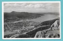 NORGE BERGEN MIT BYFJORD 1937 - Norvegia