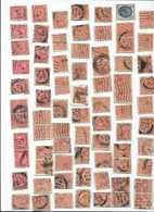 150 TIMBRES GRANDE-BRETAGNE -great Britain -england -angleterre -royaume-uni -PACK/LOT - Collezioni