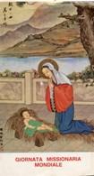 Roma - Santino Depliant GIORNATA MISSIONARIAMONDIALE - R9- - Religione & Esoterismo