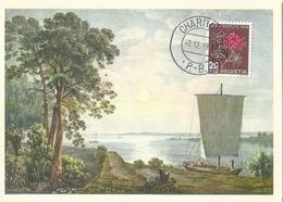 """Pro Juventute Karte 235  """"Am Bodensee (J.J.Meyer)""""           1948 - Pro Juventute"""