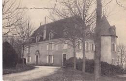 CHARDEUIL  Par   COULAURES ,,,,LE CHATEAU ,,,,  Rare - France