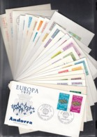 EUROPA CEPT 1972, 22 FDC, Komplett 22 Länder - Europa-CEPT