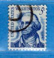 (Us2) USA °-1965-66 - Américains Célèbres- George Waschington.  Yvert . 796 .  USED.  Vedi Descrizione - Stati Uniti