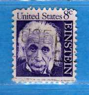 (Us2) USA °-1965-66 - Américains Célèbres- Albert Einstein.  Yvert . 798  .  USED.  Vedi Descrizione - Stati Uniti