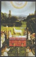 "BELGIEN Block 56, Postfrisch **, ""Genter Altar"" Der Brüder Van Eyck 1986 - Blocks & Kleinbögen 1924-1960"