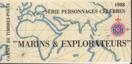 Frankreich MH 12, Postfrisch **, Persönlichkeiten 1988, Seefahrer Und Entdecker - Carnets
