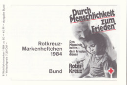 BRD DRK-MH Mit 6x 1227, Postfrisch **, Wohlfahrt 1984 - [7] République Fédérale