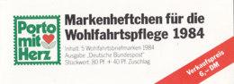 BRD  BAG-MH 2 A, Mit 5x 1227, Postfrisch **, Wohlfahrt 1984 - [7] République Fédérale