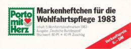 BRD  BAG-MH 1 A, Mit 5x 1190, Postfrisch **, Wohlfahrt 1983 - [7] République Fédérale