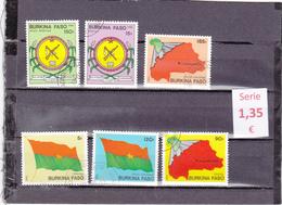 Burkina Faso  -  Serie Completa    - 6/3621 - Burkina Faso (1984-...)