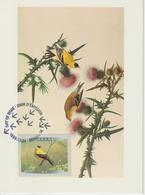 Canada Carte Maximum 1999 Oiseaux Chardonneret 1635 - Maximumkaarten