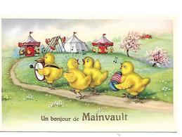 Ath  Un Bonjour De Mainvault - Ath