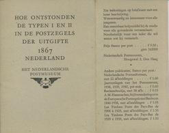 1867  Hoe Ontstonden De Typen I En II Van De Uitgifte CIJFERS - Periodo 1852 – 1890 ( Guillermo III)