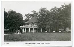LONDON : HYDE PARK - RING TEA HOUSE - London Suburbs
