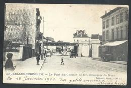 +++ CPA - Bruxelles - Brussel - Anderlecht - CUREGHEM - Pont Du Chemin De Fer - Chaussée De Mons    // - Anderlecht