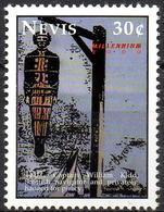 NEVIS - 1v Mint MNH** - Captain William Kidd Scottish Navigator & Privateer, Hanged In Chain Piracy Death Piraterie - Sonstige