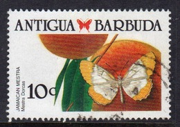 Antigua 1988 Single 10c Stamp From The Definitive Set. - Antigua And Barbuda (1981-...)