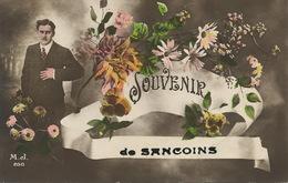 Souvenir De Sancoins Envoi à Aubergiste De Baugy - Sancoins