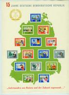 DDR 1964,15W In Block,15 Jahre Deutsche Demokratische Republik,Postfrisch(C409) - [6] Oost-Duitsland