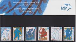 GRECE  JEUX OLYMPIQUES D'ATHENES 2004 - Estate 2004: Atene