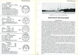 Deutsch - Neuguinea Von Friedemann/Wittmann Das Bekannte Standardwerk - Kolonien Und Auslandsämter