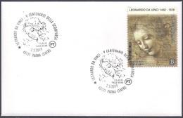 Italia Italy (2019) Special Postmark: Parma; Leonardo Da Vinci (500th Anniversary Of Death) - Altri