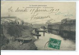 Champagné-les-Marais-Le Canal Et Le Pont - France