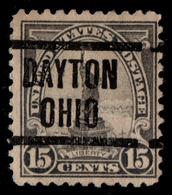 "USA Precancel Vorausentwertung Preo, Locals ""DAYTON"" (OHIO). - Stati Uniti"