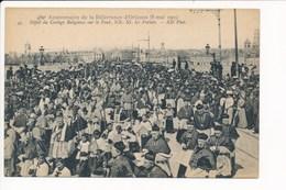 Carte Du 480e Anniversaire De La Délivrance D' ORLEANS  1909 Défilé Du Cortège Religieux Sur Le Pont  ( Recto Verso ) - Orleans