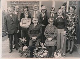 ASPER   ---  FOTO 1973  -  17.5 X 13 CM   GOUDEN BRUILOFT  DE CLERCQ - ZULMA DE CLERCQ - Gavere