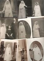 COMMUNION Lot 50 Cartes Photo Communiant Et Communiante Majorité 1900/1930 Situées Et Non Situées - 5 - 99 Karten