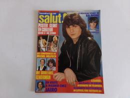 """Revue """" Salut """" N° 92, 1979, Dire Straits, Rod Stewart, Il était Une Fois, Michel Delpech ... - People"""