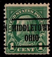 "USA Precancel Vorausentwertung Preo, Locals ""MIDDLETOWN"" (OHIO). - Stati Uniti"