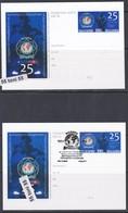 2019 The International Police Association   2 Postal Card  Bulgaria / Bulgarie - Police - Gendarmerie