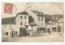 01 Ain Culoz La Place Devanture Commerce Patisserie Et Verdier Tailleur Ed Zimmer - Autres Communes