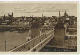 Maastricht - Panorama Maasbrug - 1937 - Maastricht